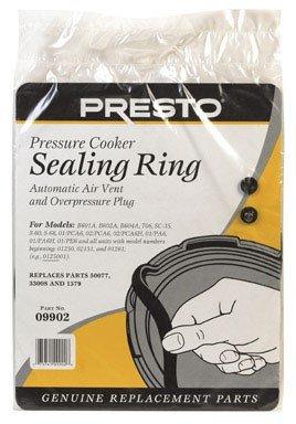 (Presto Pressure Cooker Sealing Ring/Safety Plugpack)
