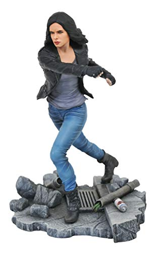 DIAMOND SELECT TOYS FEB178004 Select Toys Marvel Gallery: Netflix Defenders Jessica Jones PVC Figure, Multicolor