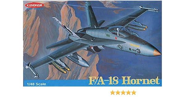 Kangnam 1:48 F-18 Hornet [Model Building KIT]