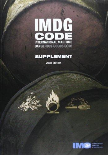 IMDG Code - International Maritime Dangerous Goods Supplement 2008