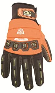Custom Leather Craft 165XXL Flexgrip Winter Energy Gloves, Size Double Extra Large
