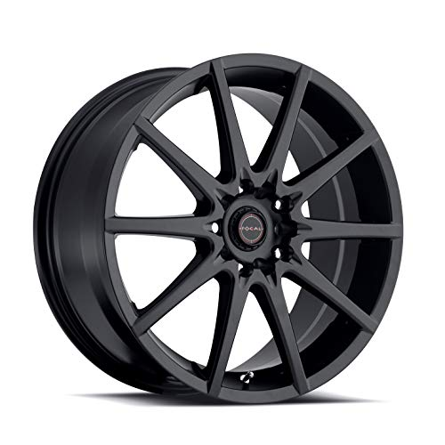 Focal 428SB F-04 Matte Black Wheel with Painted (17 x 7.5 inches /5 x 100 mm, 42 mm Offset) (Best Rims For Scion Frs)