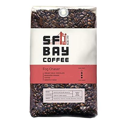SF Bay Coffee Fog Chaser Medium Bean Coffee from SAN FRANCISCO BAY
