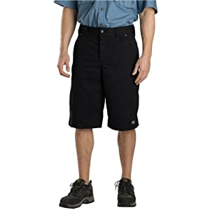 Dickies Mens 13-Inch Regular-Fit Shadow Stripe Short