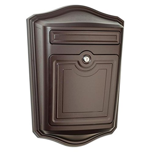 Architectural Mailboxes 2540RZ-10 Maison Wallmount Mailbox, Small, Rubbed Bronze
