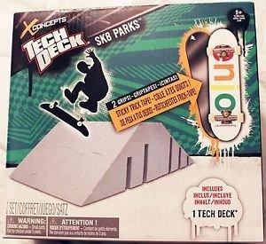 TECH DECK SK8 PARKS Ramps X Concepts ENJOI Skateboard Fingerboard Set (Deck Sk8 Parks)