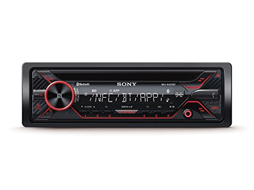 Sony MEX-N4200BT Car CD Receiver With Bluetooth (Sony Car Stereo Receiver)
