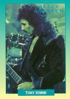 Tony iommi signed guitar