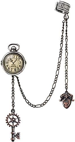 8284192b5726 Alchemy of England Steampunk Uncle Albert s Timepiece Ear Cuff Earring  Jewelry