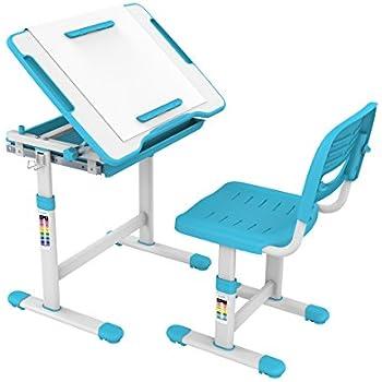 Amazon Com Proht Height Adjustable Children Desk Amp Chair