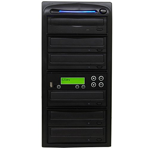 ProDuplicator USB Memory Flash Stick Pen Drive Thumb to Disc / 5 Target Blu-ray BD CD DVD SATA Burner Duplicator / Copier + USB 2.0 by Produplicator