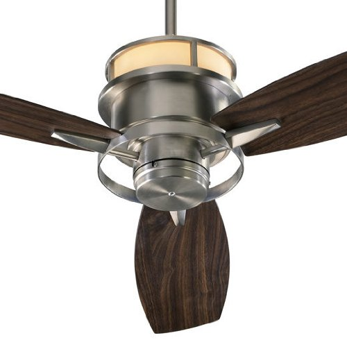 Ceiling fan uplight amazon quorum 54543 65 bristol satin nickel uplight 54 ceiling fan with wall control aloadofball Image collections
