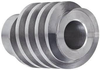 "Boston Gear DH1418RH Worm Gear, 14.5 Degree Pressure Angle, 0.625"" Bore, 10 Pitch, 1.25 PD, RH"