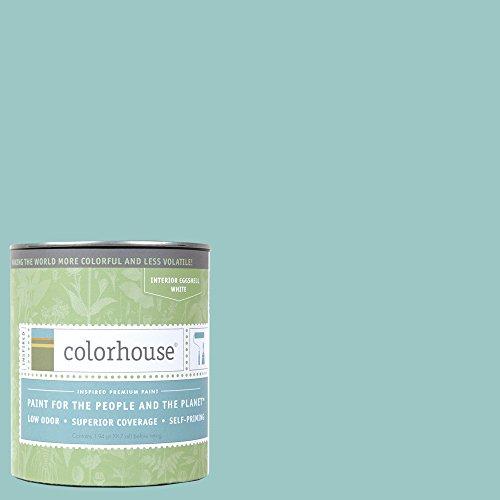 Paint Finish Bedroom (Inspired Eggshell Interior Paint, Dream .04, Quart)