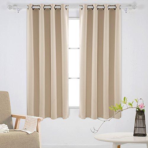 Deconovo Curtains Blackout Insulated Darkening