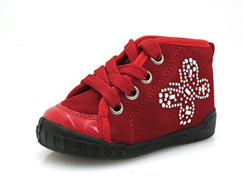 Naturino scarpe bambino bimba Scarpe per Primi Passi Pelle Falcotto 389  Rosso - rosso 777800375c1