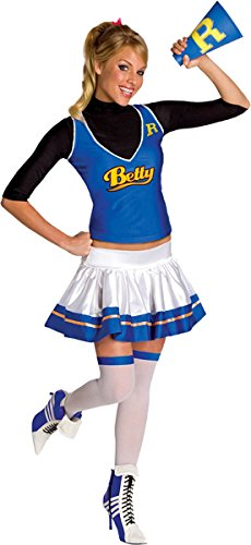 Secret Wishes  Womens Betty Costume, Blue/White, Small