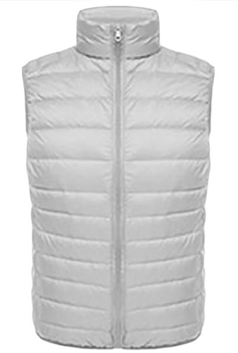 Silvery and UK Fall Winter today Packable Sleeveless Lightweight Puffer Coat Vests Down Men's 7nTw6qz