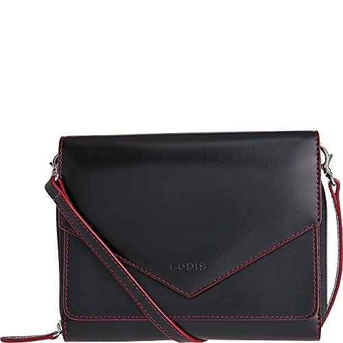 Red Daria Accessories Black Small Women's Lodis Audrey Crossbody vSAOPq