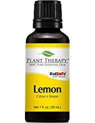 Lemon Essential Oil (Cold Pressed) 30 ml (1 oz). 100% Pure, Undiluted, Therapeutic Grade.