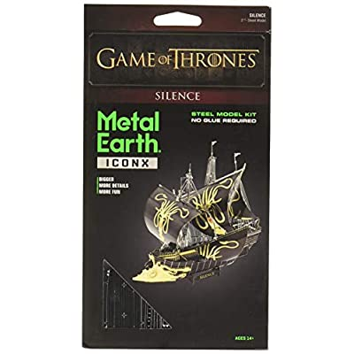 Fascinations Metal Earth ICONX Game of Thrones Silence 3D Metal Model Kit: Toys & Games