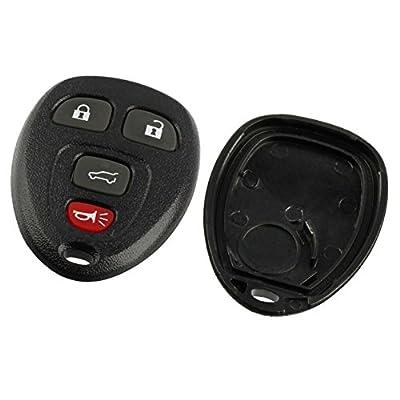 Key Fob Keyless Entry Remote Shell Case & Pad fits Buick, Cadillac, Chevy, GMC, Saturn: Automotive
