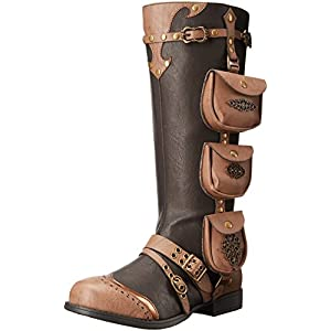 Ellie Shoes Women's 181-Silas Steampunk Boot