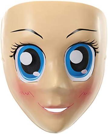 Anime female mask