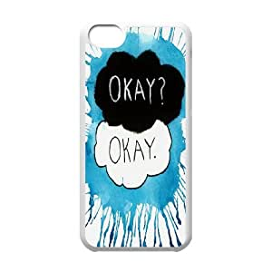 FOR Iphone 5c -(DXJ PHONE CASE)-Okay?Okay - The Fault In Our Stars-PATTERN 10
