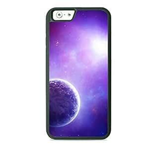Case Fun Case Fun Purple Planet TPU Rubber Back Case Cover for Apple iPhone 6 4.7 inch