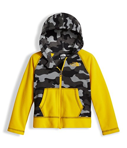 Graphite Classic Coat (The North Face Toddler Glacier Full Zip Hoodie Graphite Grey Classic Camo (2T))