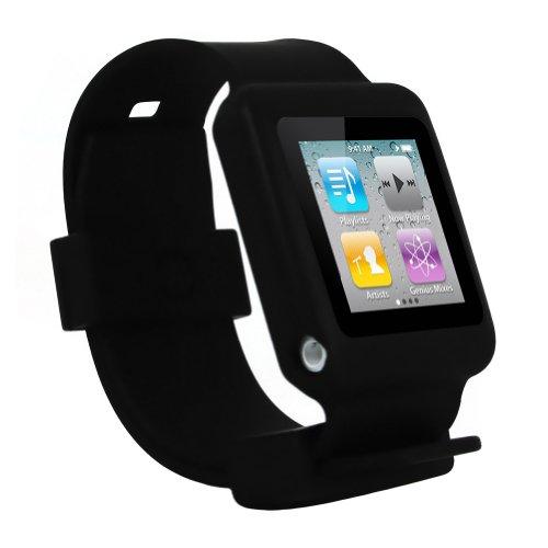 ipod nano 6th gen watch wrist band skin case for ipod nano