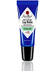 Jack Black Intense Therapy Lip Balm SPF 25, Natural Mint & Shea Butter 0.25 ounce
