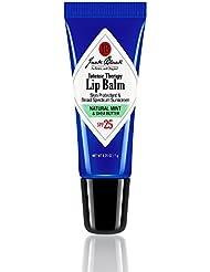 Jack Black Intense Therapy Lip Balm SPF 25, Natural Mint & Shea Butter, 0.25 oz.