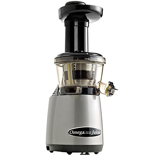 Omega Juicers VRT400HDS Vertical Masticating Juicer with Tap, Silver Review