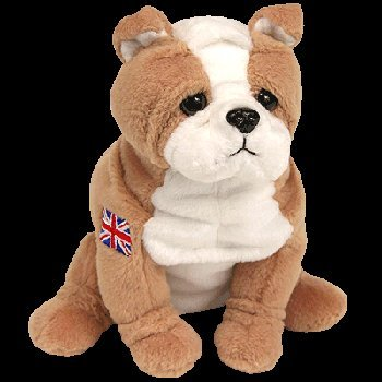 e9fbeee69f3 Image Unavailable. Image not available for. Color  TY Beanie Baby - FEARLESS  the English Bulldog ...