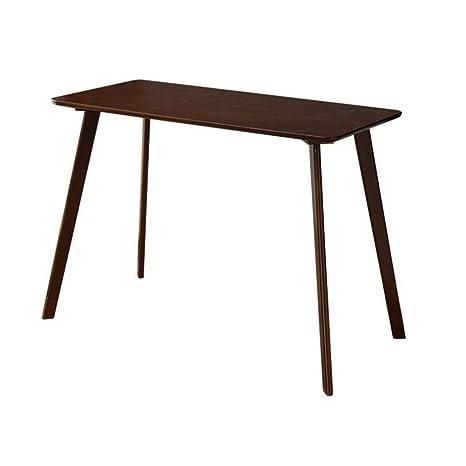 Amazon.com: Muebles de salón mesa de madera de caucho ...