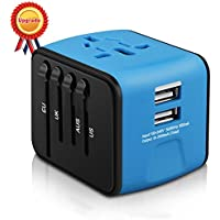 Universal Travel Adapter Iron-M All-in-one International Power Adapter
