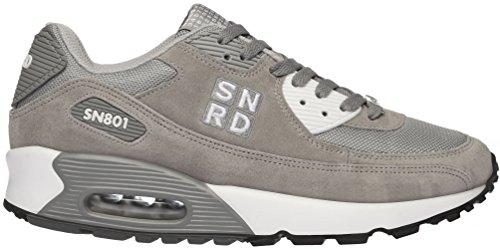 SN801 Unisex Casual Fashion Sports Air Kissen Sneakers Dunkelgrau