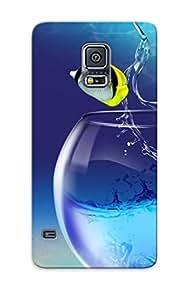Pretty PgtvspH383mPhrG Galaxy S5 Case Cover/ Fish Tank Series High Quality Case