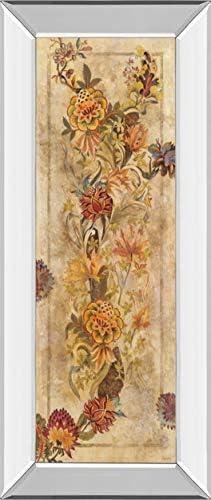 Classy Art Fleur Delicate Il by Georgie Framed Print Wall Art, Tan Beige