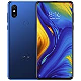 "Xiaomi Mi Mix 3 - Smartphone de 6.39"" (4G, Octa Core Qualcomm SD845 2.8 GHz, RAM de 6 GB, Memoria de 128 GB, cámara Dual de 12+12 MP, Android) Color Azul Zafiro"