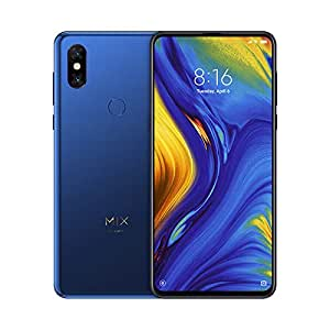 "Xiaomi Mi Mix 3 - Smartphone de 6.39"" (4G, Octa Core Qualcomm SD845 2.8 GHz, RAM de 6 GB, Memoria de 128 GB, cámara Dual de 12+12 MP, Android) Color Azul Zafiro"