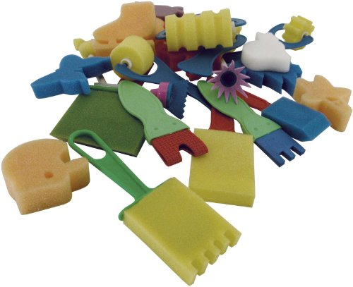 Art Advantage Sponge Set, 25-Piece by Art Advantage