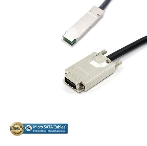 (QSFP+ to CX4 Copper Cable - 2 Meter )