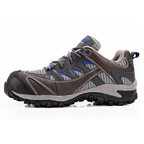 Misco KIKO Arbeitsschuhe Unisex-Herren Damen Wanderschuhe Trekking Wanderstiefel Trekkingschuhe mit Anti-Rutsch-Sohle f67qsxLy4z