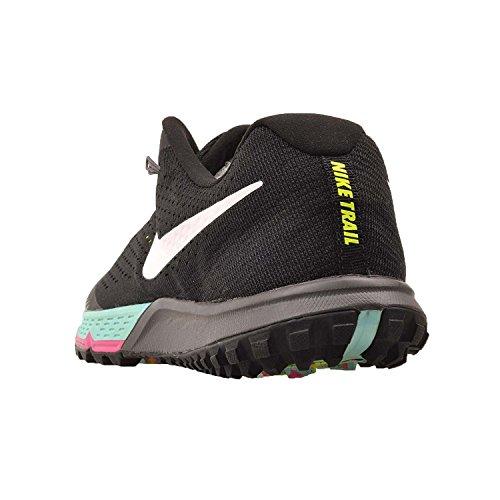 Nike Herren Zoom Terra Kiger 4 Trail Laufschuhe Schwarz / Weiß / Volt