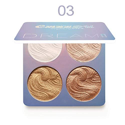 WONdere Beauty Creations Glow Highlight Palette 4 Powder ()