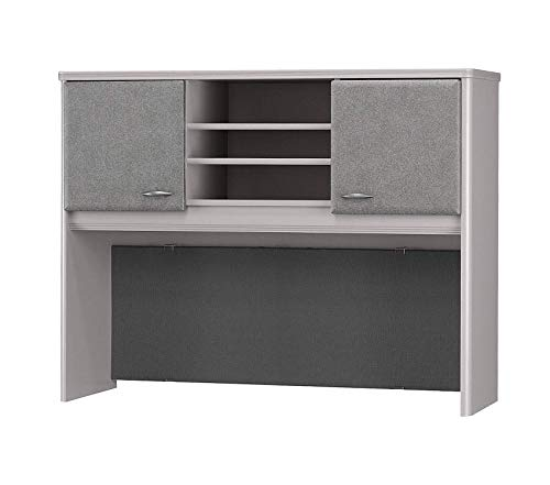 Wood & Style Office Home Furniture Premium Series A Collection 48W Hutch in White Spectrum
