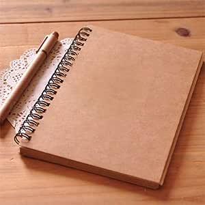 ZFSWMY Cuaderno de bocetos en Espiral Diario para Dibujar